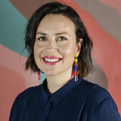 Dr Caitlin Barr CEO of Soundfair