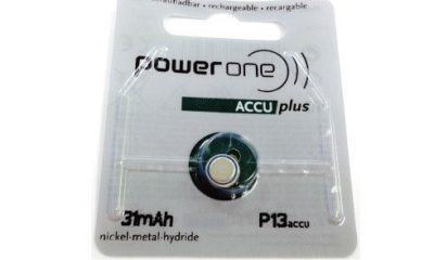 Power One Rechargeable Hearing Aid Battery